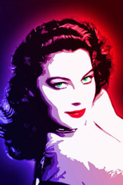 ava gardner color