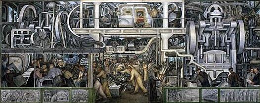 detroit industry fresco diego rivera