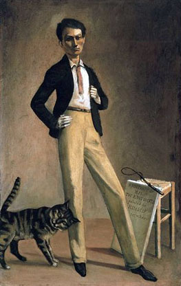 the king of cats by balthus