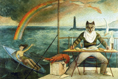 the mediterranean cat by balthus