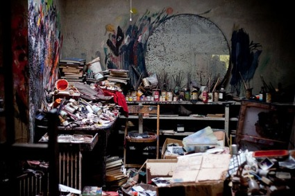 studio london artist francis bacon