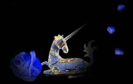 unicorn glass menagerie
