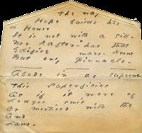 emily dickinson envelope