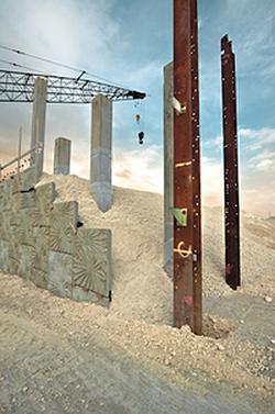 Silvia Lizama Iron Columns