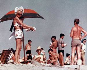coney island beach 1960s