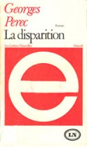 perec la disparition