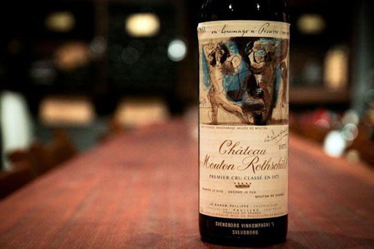 picasso mouton rothschild