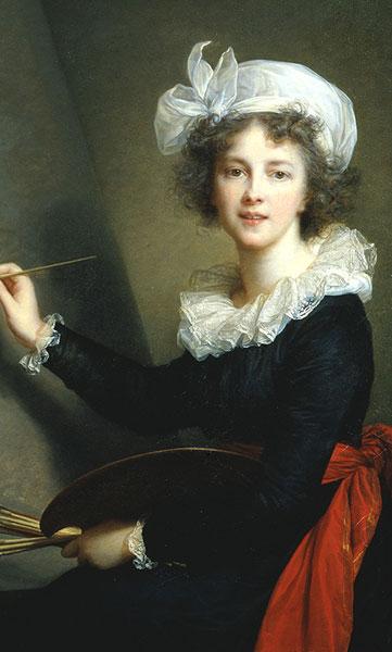 Le Brun Self-Portrait
