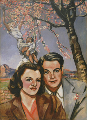 portrait of a couple picabia