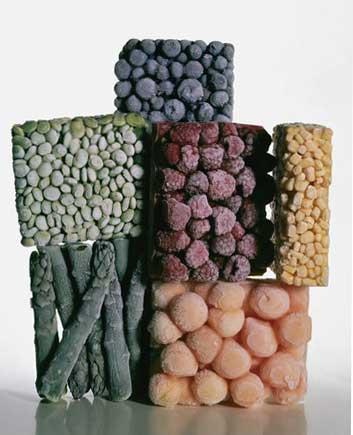 Irving Penn Frozen Foods